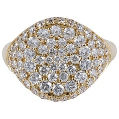 2.0 Carat Diamond Exclusive Signet Ring