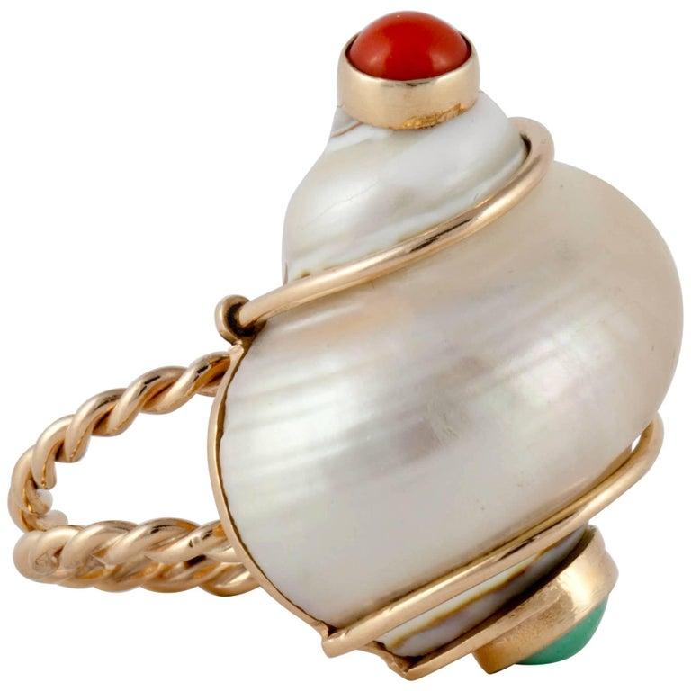 Seaman Schepps Shell Ring
