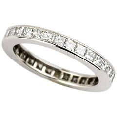 Cartier Diamond Full Eternity Ring 1.76 Carat