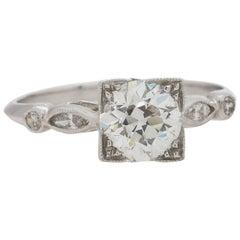 4d69d89b3c9eb Vintage Art Deco Diamond Engagement Ring Platinum 2.05 Carat I/VS2 ...