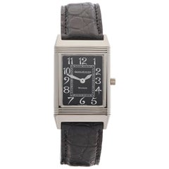 Jaeger-LeCoultre White Gold Reverso Mechanical Wristwatch