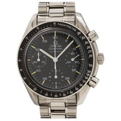 Omega Stainless Steel Speedmaster Reduced Automatic Wristwatch Ref 3510.50