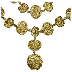 Cartier Vermeil Belt Necklace, circa 1970