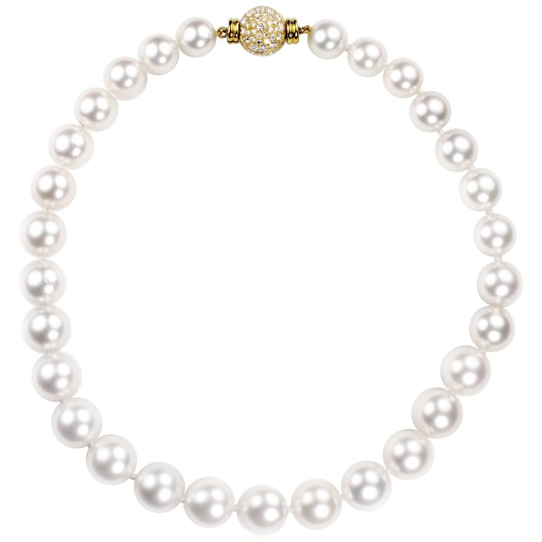 Julius Cohen South Sea Cultured Pearl Necklace