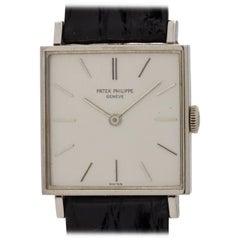 Patek Philippe White Gold Manual Wind Wristwatch Ref 3430, circa 1967