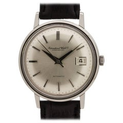 IWC Stainless Steel Date Automatic Wristwatch Ref R804A, circa 1960s