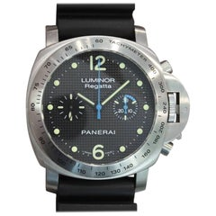Panerai Stainless Steel Luminor Regatta Chronograph Manual wristwatch, 2008