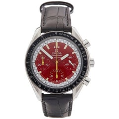 Omega Stainless Steel Speedmaster Michael Schumacher Automatic Wristwatch, 1997