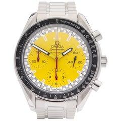 Omega  Stainless Steel Speedmaster Michael Schumacher Automatic Wristwatch