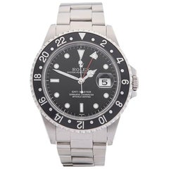 Rolex Stainless Steel GMT Master Automatic Wristwatch Ref 16700, 1997
