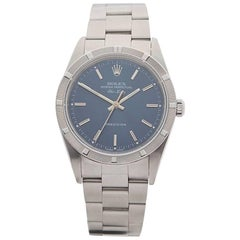 Rolex Stainless Steel Air King Automatic Wristwatch Ref 14010, 2000