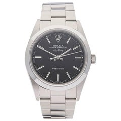 Rolex Stainless Steel Air King Automatic Wristwatch Ref 14010