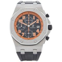 Audemars Piguet Stainless Steel Royal Oak Offshore Volcano Automatic Wristwatch