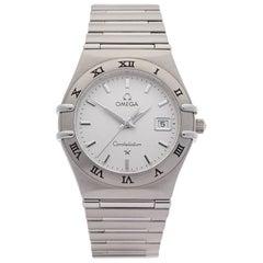 Omega Ladies Stainless Steel Constellation Quartz Wristwatch, 2000s