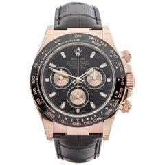 Rolex Rose Gold Daytona Automatic Wristwatch Ref 116515LN, 2017