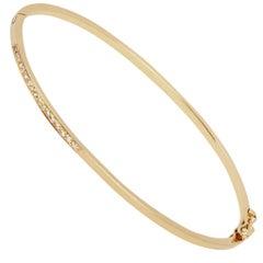 Allison Bryan White Diamond Bracelet