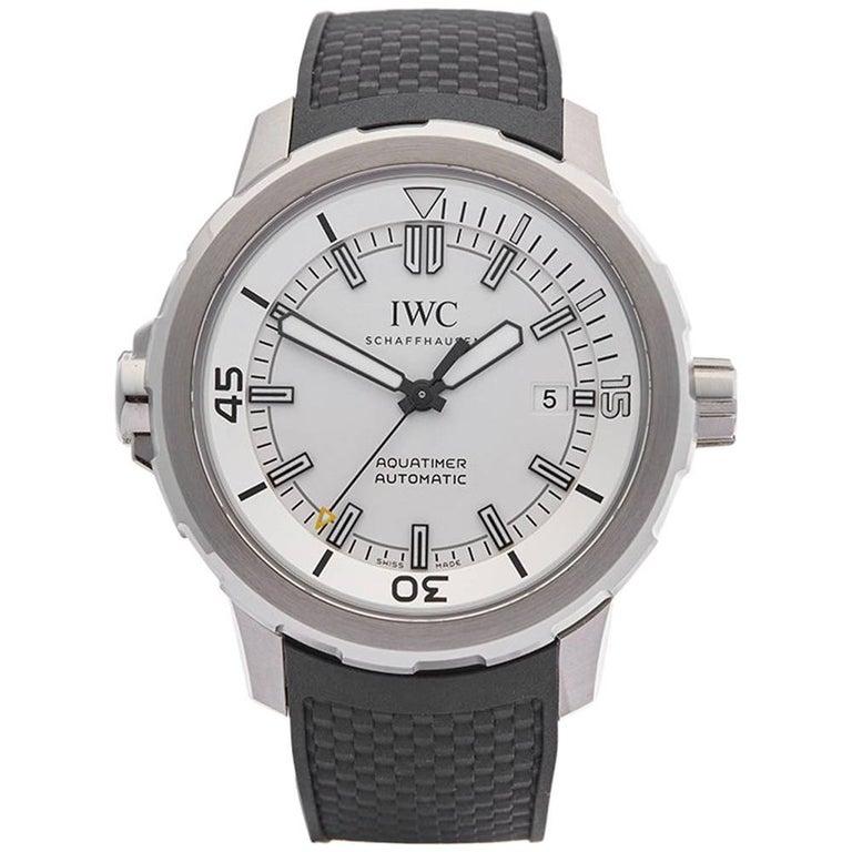 IWC Stainless Steel Aquatimer Automatic Wristwatch Ref IW329003, 2014