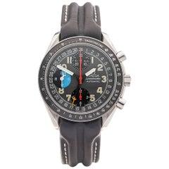 Omega Stainless Steel Speedmaster Automatic Wristwatch Ref 38205326, 1990s