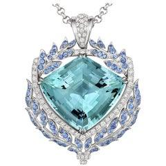 Tivon Fine Jewellery 'Shield of Liberty' 18 Karat Diamond