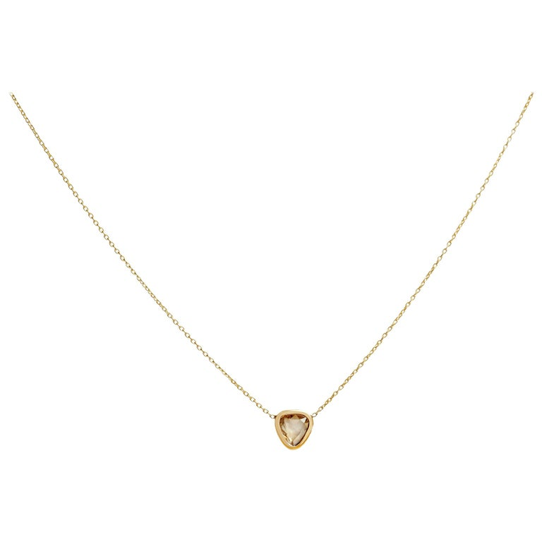Allison Bryan Solo Diamond Necklace