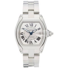 Cartier Stainless Steel Roadster Automatic Wristwatch Ref 2510, 2003