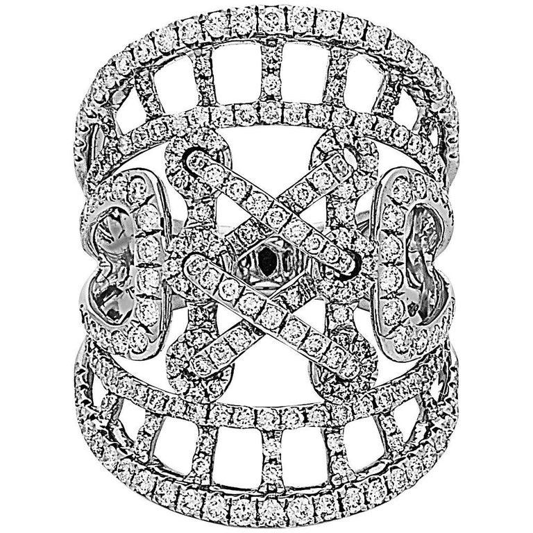 Emilio Jewelry Lace Diamond Ring