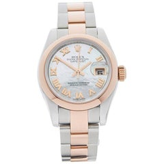 Rolex Ladies Rose Gold Stainless Steel Datejust Automatic Wristwatch, 2013