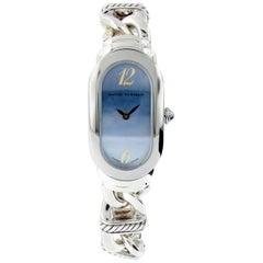 David Yurman Sterling Silver Madison Link quartz Watch
