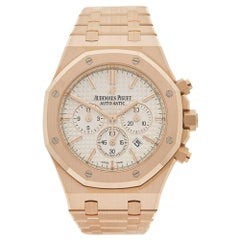 Audemars Piguet Rose Gold Royal Oak Chronograph Automatic Wristwatch
