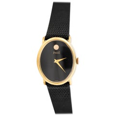 Piaget Ladies Yellow Gold Plate Manual Wristwatch