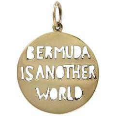 Gold Bermuda Charm