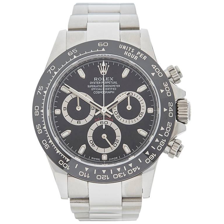 Rolex Stainless Steel Daytona Automatic Wristwatch Ref 116500LN, 2016