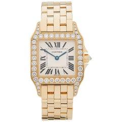 Cartier Ladies Yellow Gold Santos Demoiselle Automatic Wristwatch Ref W4191