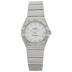 Omega Ladies Stainless Steel Constellation quartz wristwatch, 2010