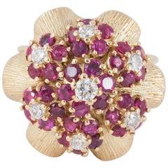 Ruby and Diamond Dress Ring by Ben Rosenfeld