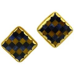 Checkerboard Earrings