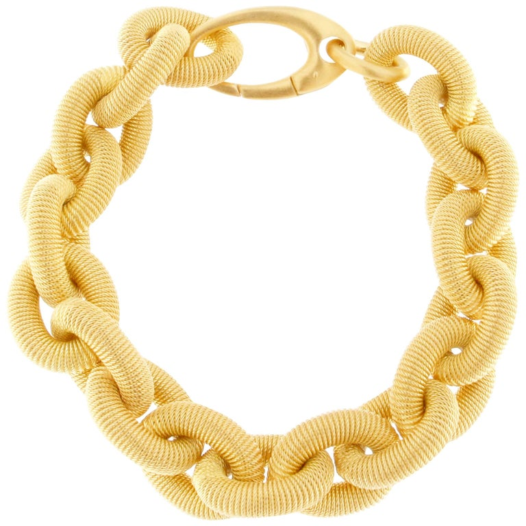 Jona Gold-Plated Sterling Silver Link Chain Bracelet