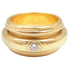 Piaget Possession Bandeau Diamond Yellow Gold Band Ring