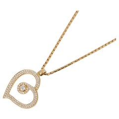 Roberto Coin Diamond Gold Necklace