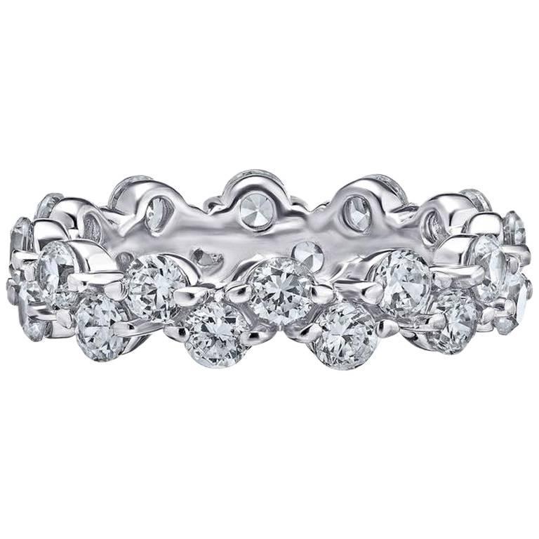 Emilio Jewelry Diamond Gold Wedding Band Ring