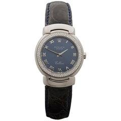 Rolex Ladies White Gold Cellini Quartz Wristwatch Ref 6671, 2001