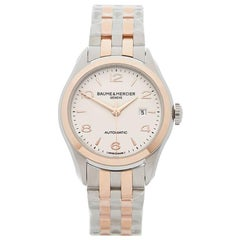Baume and Mercier Ladies Stainless Steel Clifton Automatic Wristwatch, 2017