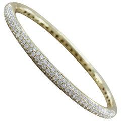 Diamond Pave Gold Bracelet
