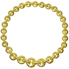 Chic Paul Morelli Gold and Diamond Necklace