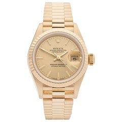 Rolex Ladies Yellow Gold Datejust Automatic Wristwatch Ref 69178, 1987