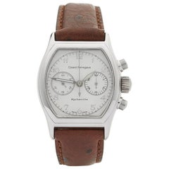 Girard Perregaux White Gold Richeville Chronograph Manual Wristwatch, 2001