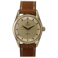 Universal Gold-Plate Stainless Steel Geneve Polerouter Automatic Wristwatch