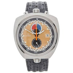 Omega Stainless Steel Seamaster Bullhead Mechanical Wind Wristwatch, 1969