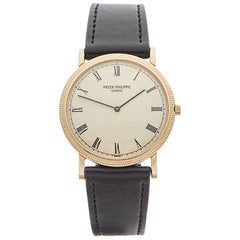 Patek Philippe Ladies Yellow Gold Calatrava Mechanical Wind Wristwatch, 1960s