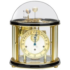 Patek Philippe Franz Hermle Yellow Gold-Plated Grand Sovereign II Display Clock